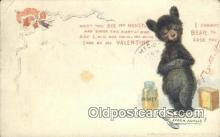 ber001727 - Artist Outcault, Bear Postcard Post Card Old Vintage Antique