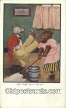 ber001797 - 430 Busy Bears - Friday, Bear Postcard Post Card Old Vintage Antique