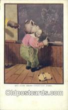 ber001798 - 437 Busy Bears Something Doing, Bear Postcard Post Card Old Vintage Antique