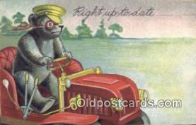 ber001836 - Right Up To Date Ottoman Lithographing Bears, Co. NY, Bear Postcard Bears, tragen postkarten, sopportare cartoline, soportar tarjetas postales, suportar cartões postais