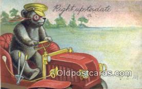 ber001839 - Right Up To Date Ottoman Lithographing Bears, Co. NY, Bear Postcard Bears, tragen postkarten, sopportare cartoline, soportar tarjetas postales, suportar cartões postais