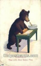 ber001862 - Thursday Busy Bear Series 79, The Ullman MFG 1906, Bear Postcard Bears, tragen postkarten, sopportare cartoline, soportar tarjetas postales, suportar cartões postais