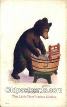 ber001863 - Monday Busy Bear Series 79, The Ullman MFG 1906, Bear Postcard Bears, tragen postkarten, sopportare cartoline, soportar tarjetas postales, suportar cartões postais