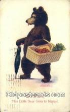 ber001865 - Saturday Busy Bear Series 79, The Ullman MFG 1906, Bear Postcard Bears, tragen postkarten, sopportare cartoline, soportar tarjetas postales, suportar cartões postais