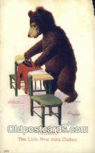 ber001869 - Tuesday Busy Bear Series 79, The Ullman MFG 1906, Bear Postcard Bears, tragen postkarten, sopportare cartoline, soportar tarjetas postales, suportar cartões postais