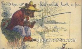 ber001875 - Had Much Luck So Far Wells Bears, Bear Postcard Bears, tragen postkarten, sopportare cartoline, soportar tarjetas postales, suportar cartões postais
