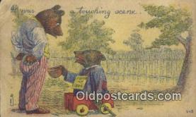 ber001878 - A Touching Scene Wells Bears, Bear Postcard Bears, tragen postkarten, sopportare cartoline, soportar tarjetas postales, suportar cartões postais