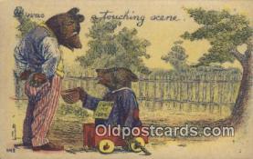 ber001881 - A Touching Scene Wells Bears, Bear Postcard Bears, tragen postkarten, sopportare cartoline, soportar tarjetas postales, suportar cartões postais