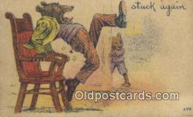 ber001882 - Stuck Again Wells Bears, Bear Postcard Bears, tragen postkarten, sopportare cartoline, soportar tarjetas postales, suportar cartões postais