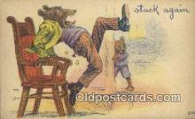 ber001884 - Stuck Again Wells Bears, Bear Postcard Bears, tragen postkarten, sopportare cartoline, soportar tarjetas postales, suportar cartões postais