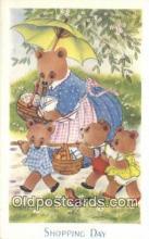 ber001905 - Shopping Day J. Salmon LTD, Bear Postcard Bears, tragen postkarten, sopportare cartoline, soportar tarjetas postales, suportar cartões postais
