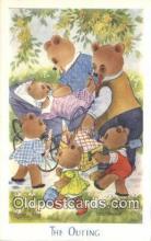 ber001909 - The Outing J. Salmon LTD, Bear Postcard Bears, tragen postkarten, sopportare cartoline, soportar tarjetas postales, suportar cartões postais