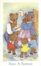 ber001910 - What A Surprise J. Salmon LTD, Bear Postcard Bears, tragen postkarten, sopportare cartoline, soportar tarjetas postales, suportar cartões postais