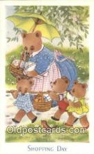 ber001913 - Shopping Day J. Salmon LTD, Bear Postcard Bears, tragen postkarten, sopportare cartoline, soportar tarjetas postales, suportar cartões postais