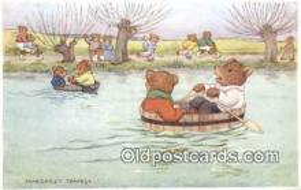 ber001916 - The Boat Race Artist Margaret Tempest, Bear Postcard Bears, tragen postkarten, sopportare cartoline, soportar tarjetas postales, suportar cartões postais
