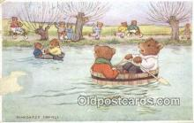 ber001918 - The Boat Race Artist Margaret Tempest, Bear Postcard Bears, tragen postkarten, sopportare cartoline, soportar tarjetas postales, suportar cartões postais