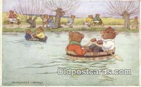 ber001919 - The Boat Race Artist Margaret Tempest, Bear Postcard Bears, tragen postkarten, sopportare cartoline, soportar tarjetas postales, suportar cartões postais