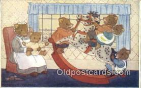 ber001920 - The Rocking Horse Artist Margaret Tempest, Bear Postcard Bears, tragen postkarten, sopportare cartoline, soportar tarjetas postales, suportar cartões postais