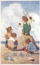 ber001922 - King of the Castle Artist Margaret Tempest, Bear Postcard Bears, tragen postkarten, sopportare cartoline, soportar tarjetas postales, suportar cartões postais