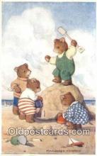 ber001923 - King of the Castle Artist Margaret Tempest, Bear Postcard Bears, tragen postkarten, sopportare cartoline, soportar tarjetas postales, suportar cartões postais