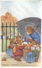 ber001924 - Sweet Apples Artist Margaret Tempest, Bear Postcard Bears, tragen postkarten, sopportare cartoline, soportar tarjetas postales, suportar cartões postais