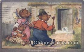 ber001927 - Artist AE Kennedy, Bear Postcard Bears, tragen postkarten, sopportare cartoline, soportar tarjetas postales, suportar cartões postais