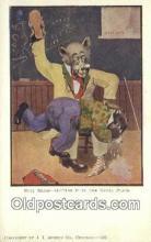ber001930 - Busy Bear # 436 J.I. Austen Co. Chicago , Bear Postcard Bears, tragen postkarten, sopportare cartoline, soportar tarjetas postales, suportar cartões postais