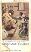 ber001934 - Busy Bear # 433 J.I. Austen Co. Chicago , Bear Postcard Bears, tragen postkarten, sopportare cartoline, soportar tarjetas postales, suportar cartões postais