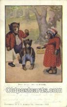 ber001937 - Busy Bear # 435 J.I. Austen Co. Chicago , Bear Postcard Bears, tragen postkarten, sopportare cartoline, soportar tarjetas postales, suportar cartões postais