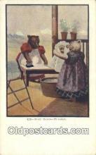 ber001938 - Busy Bear # 428 J.I. Austen Co. Chicago , Bear Postcard Bears, tragen postkarten, sopportare cartoline, soportar tarjetas postales, suportar cartões postais