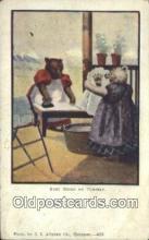 ber001942 - Busy Bear # 428 J.I. Austen Co. Chicago , Bear Postcard Bears, tragen postkarten, sopportare cartoline, soportar tarjetas postales, suportar cartões postais