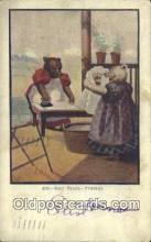 ber001944 - Busy Bear # 428 J.I. Austen Co. Chicago , Bear Postcard Bears, tragen postkarten, sopportare cartoline, soportar tarjetas postales, suportar cartões postais