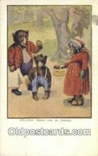 ber001947 - Busy Bear # 435 J.I. Austen Co. Chicago , Bear Postcard Bears, tragen postkarten, sopportare cartoline, soportar tarjetas postales, suportar cartões postais
