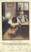 ber001953 - Busy Bear # 431 J.I. Austen Co. Chicago , Bear Postcard Bears, tragen postkarten, sopportare cartoline, soportar tarjetas postales, suportar cartões postais