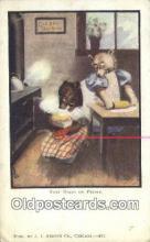 ber001954 - Busy Bear # 431 J.I. Austen Co. Chicago , Bear Postcard Bears, tragen postkarten, sopportare cartoline, soportar tarjetas postales, suportar cartões postais