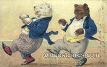 ber001958 - The Cake Walk Raphael & Sons Series No. 118 Little Bears, Bear Postcard Bears, tragen postkarten, sopportare cartoline, soportar tarjetas postales, suportar cartões postais