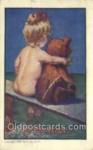 ber002019 - Me and Teddy U. Co, N.Y., Bear Postcard Bears, tragen postkarten, sopportare cartoline, soportar tarjetas postales, suportar cartões postais