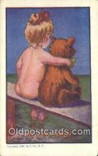 ber002020 - Me and Teddy U. Co, N.Y., Bear Postcard Bears, tragen postkarten, sopportare cartoline, soportar tarjetas postales, suportar cartões postais