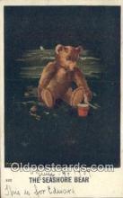 ber002029 - The Seashore Bear Artist Twelvetrees, Bear Postcard Bears, tragen postkarten, sopportare cartoline, soportar tarjetas postales, suportar cartões postais