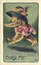 ber002032 - Chase Me, Bear Postcard Bears, tragen postkarten, sopportare cartoline, soportar tarjetas postales, suportar cartões postais