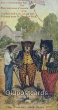 ber002036 - Cracker Jack Bears No. 9 B.E. Moreland, Rueckheim & Eckstein, Bear Postcard Bears, tragen postkarten, sopportare cartoline, soportar tarjetas postales, suportar cartões postais