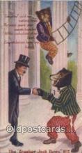 ber002038 - Cracker Jack Bears No. 7 B.E. Moreland, Rueckheim & Eckstein, Bear Postcard Bears, tragen postkarten, sopportare cartoline, soportar tarjetas postales, suportar cartões postais