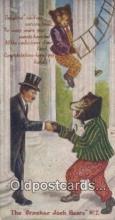 ber002049 - Cracker Jack Bears No. 7 B.E. Moreland, Rueckheim & Eckstein, Bear Postcard Bears, tragen postkarten, sopportare cartoline, soportar tarjetas postales, suportar cartões postais