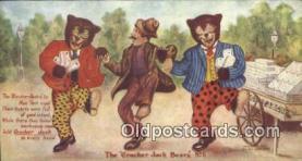 ber002051 - Cracker Jack Bears No. 6 B.E. Moreland, Rueckheim & Eckstein, Bear Postcard Bears, tragen postkarten, sopportare cartoline, soportar tarjetas postales, suportar cartões postais