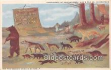 ber002242 - Bears, Vintage Collectable Postcards
