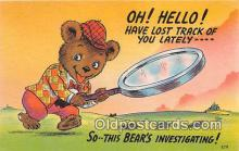 ber002265 - Bears, Vintage Collectable Postcards