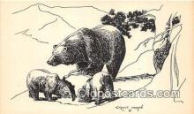 ber002272 - Bears, Vintage Collectable Postcards