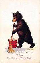 ber006007 - Bear Postcard