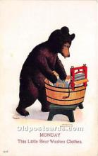 ber006008 - Bear Postcard