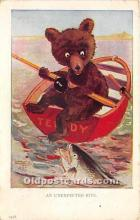 ber006009 - Bear Postcard